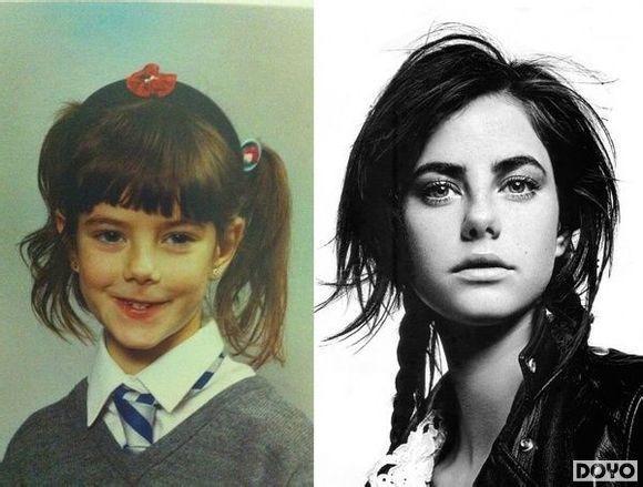 三岁看大五岁看老海量女星童年照对比曝光高清图片
