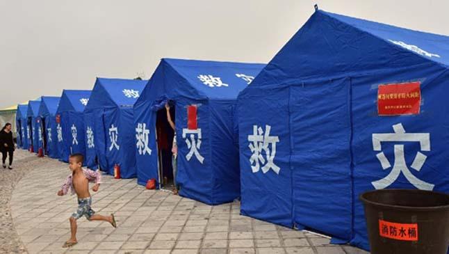 帐篷折叠方法步骤图解