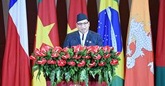 尼泊爾副總統普恩致辭