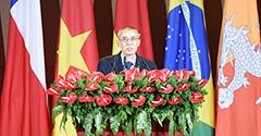 南盟秘書長阿瓊·塔帕致辭