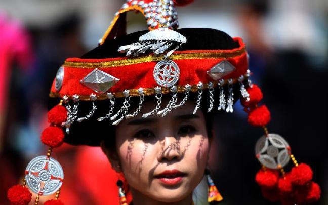 彝族虎文化故鄉雙柏舉行祭虎大典