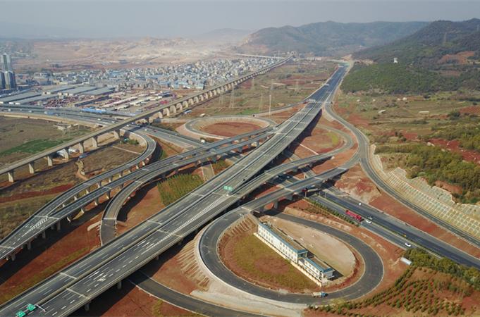 【航拍】昆明:加大馬力打造國際性綜合交通樞紐