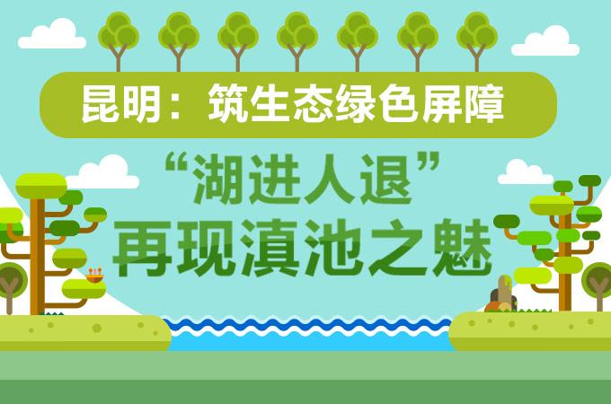【圖解】昆明:築生態綠色屏障 '湖進人退'再現滇池之魅