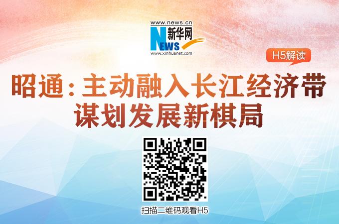 【H5】昭通:主動融入長江經濟帶 謀劃發展新棋局