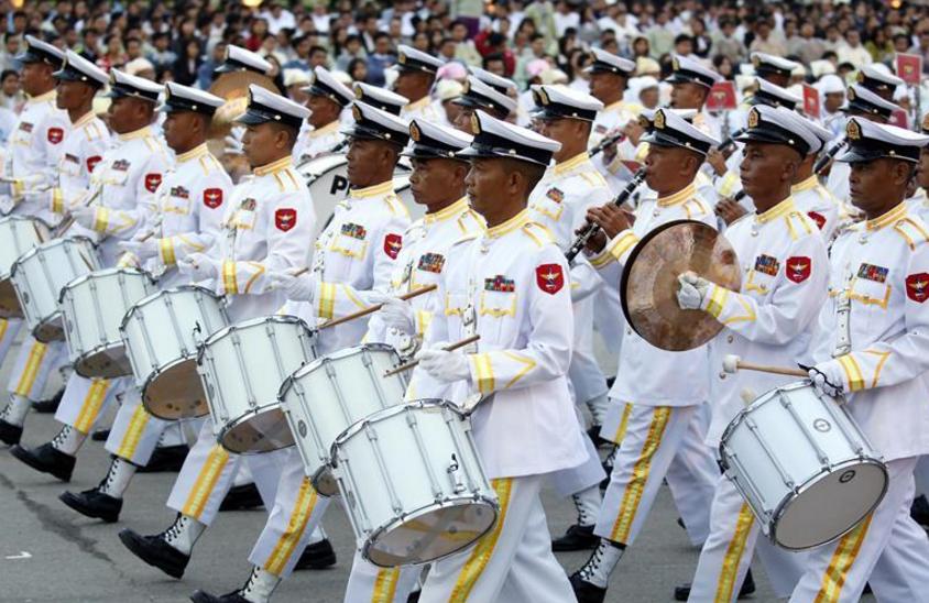 缅甸庆祝独立70周年