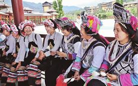 雲南屏邊:一城民俗風 滿目和諧情