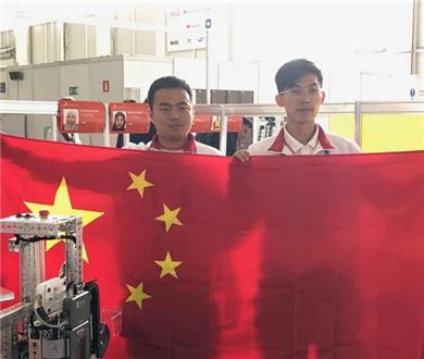 雲南選手勇奪世界技能大賽移動機器人項目金牌