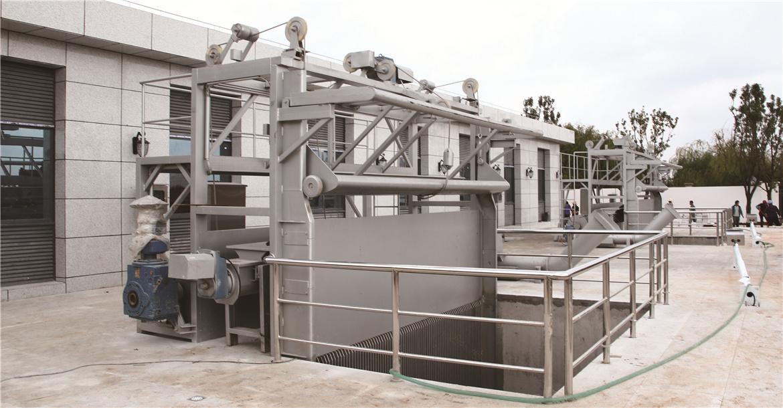 建成運行的尾水外排提升泵站