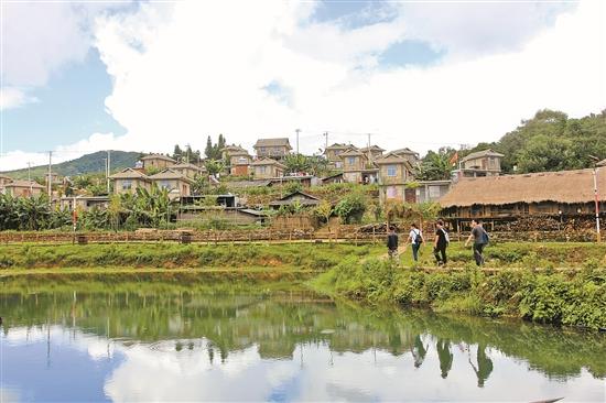 西盟縣馬散村永俄寨:打造特色村寨 帶火生態旅遊