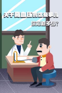 關于高血壓的這些事兒 你知道多少?