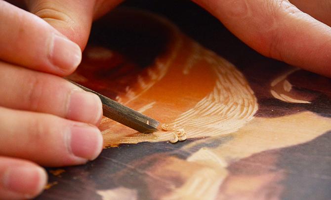 普洱絕版木刻:茶馬古道上的刀尖技藝