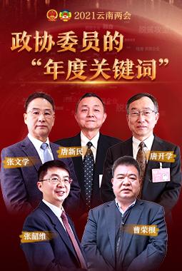 """【2021雲南兩會】政協委員的""""年度關鍵詞"""""""