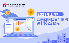 2021年上半年雲南農信社資産總額達11622億元