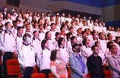 昆明市約1600名中學生觀看電影《九零後》
