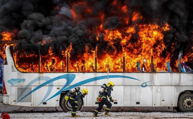 全國消防刑偵火災調查聯合演練比武在雲南舉行
