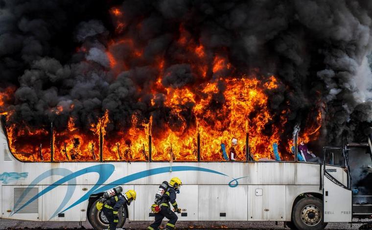 火場探案 破題獵兇——全國多地消防刑偵勇士雲南彌勒比武