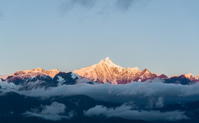 梅裏雪山的晝與夜