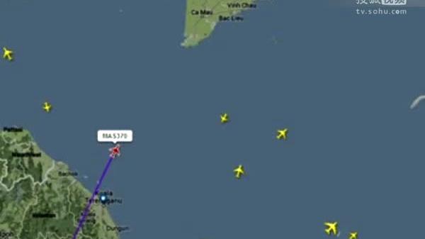中国14艘救助船2架飞机待命 2014-03-08 动画演示马航客机从起飞到