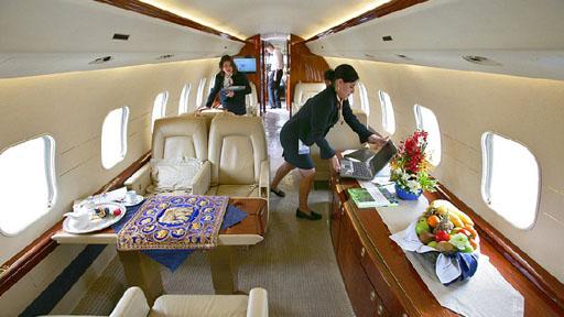 盘点全球最奢华私人飞机