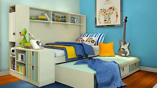 安全又环保的儿童房,感觉棒棒哒