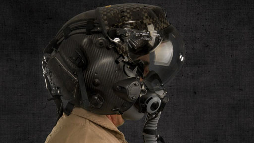 图解美军f-35科幻飞行头盔