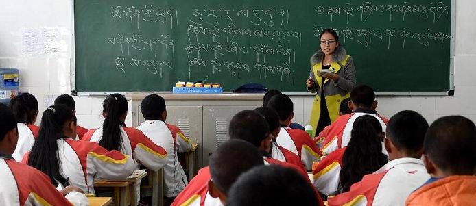 云南迪庆藏区推行藏汉双语教学培养复合型人才