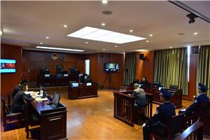 本网在云南民族大学模拟法庭进行网络视频直播