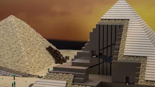 古罗马大剧院和金字塔等