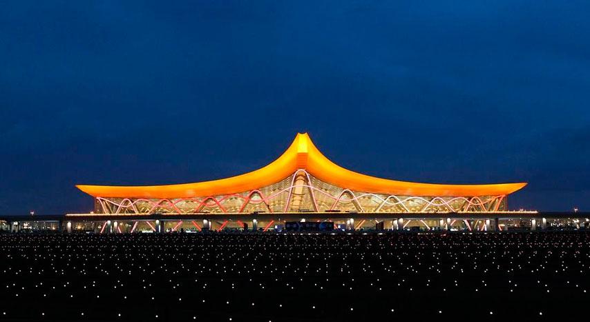 長水國際機場夜景