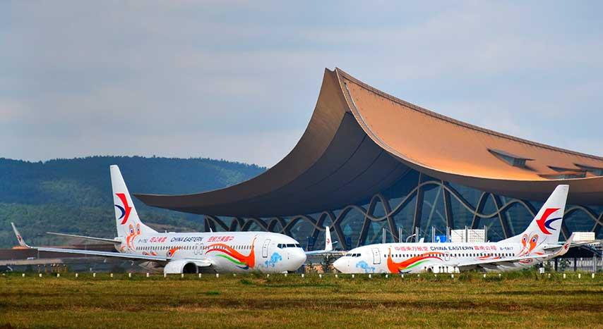 長水國際機場停機坪