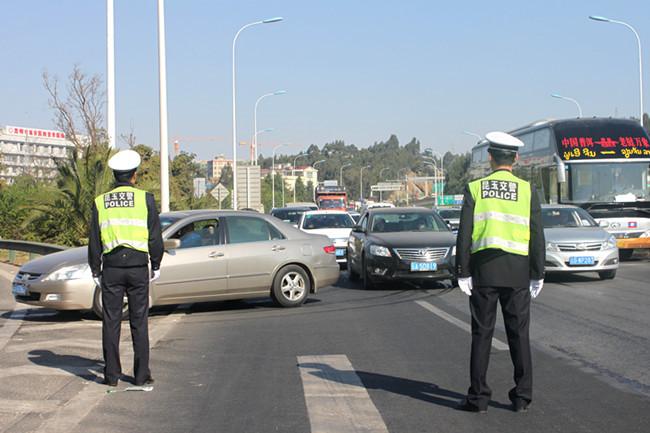 雲南省開展預防重特大交通事故專項整治行動