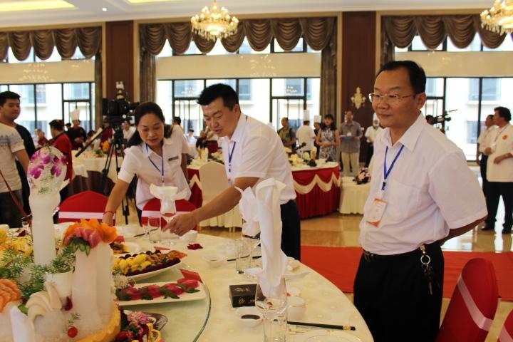 彌勒舉辦餐飲美食行業職工技能大賽
