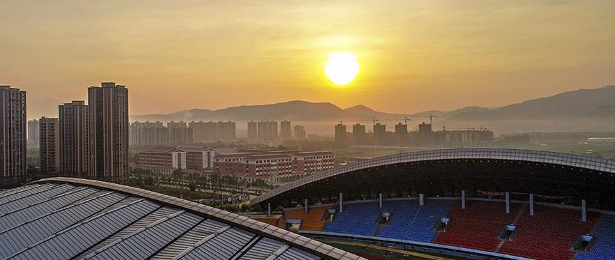 《朝陽照新城》
