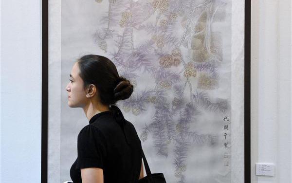 中国绘画亮相2017马来西亚国际艺术博览会