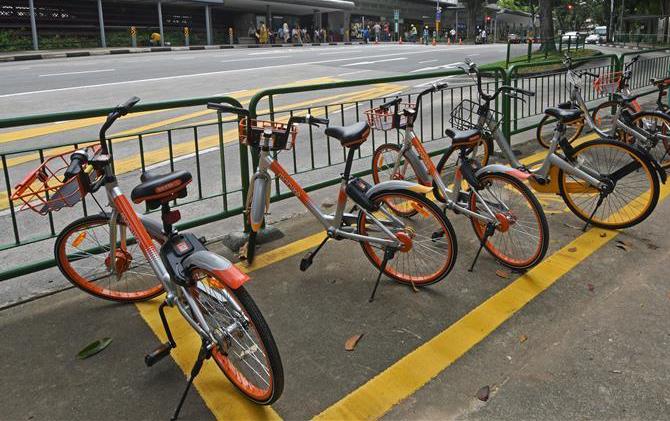 共享单车在新加坡的管理模式