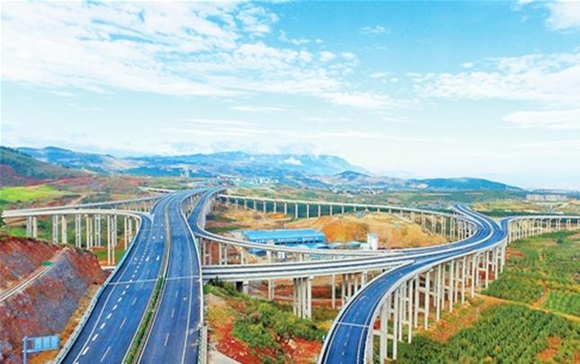 蒙文砚高速公路建成通车