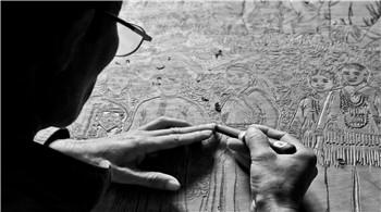 馬關壯族農民版畫享譽海內外 具有較高鑒賞和收藏價值