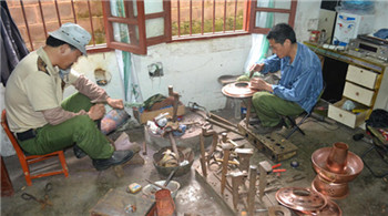 馬關八寨純手工銅炊鍋 傳承民族工藝
