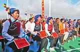 云南南涧:村有产业 家有就业 户有分红