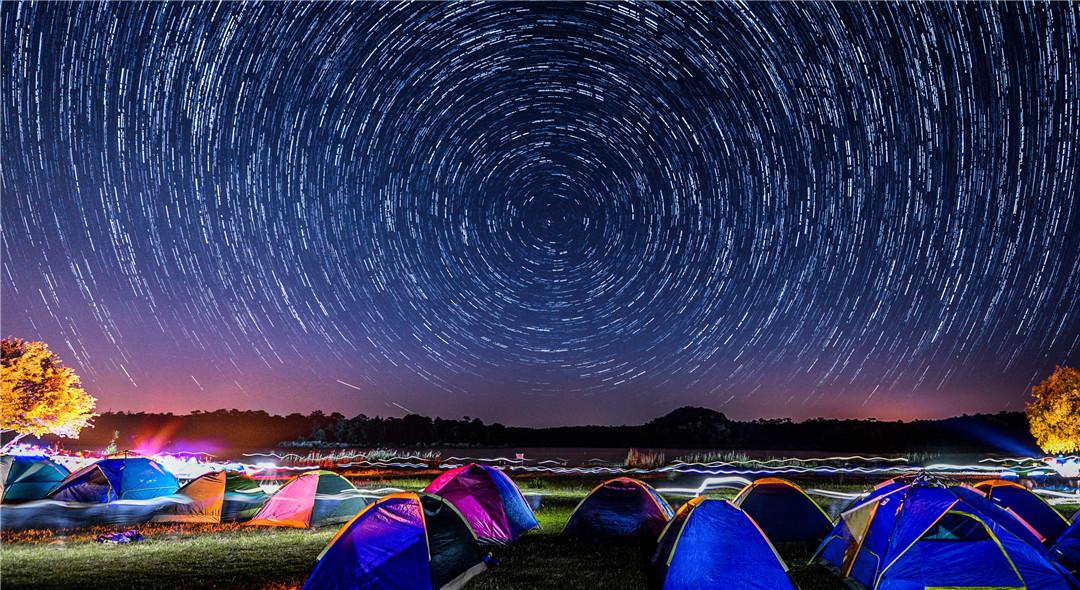 石林長湖露營