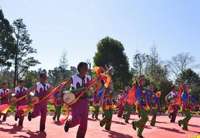 雲南石林:歡歌炫舞耀新春