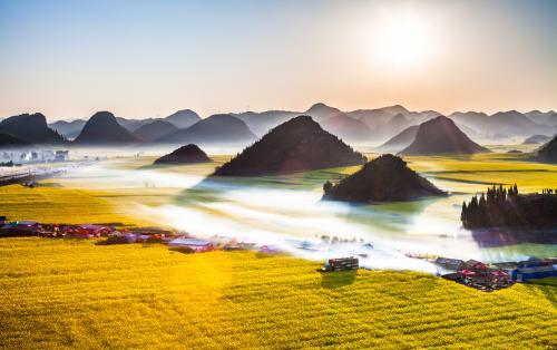 羅平油菜花文化旅遊節啟幕