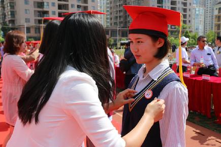 云南衡水实验中学举行高二学生成人礼仪式