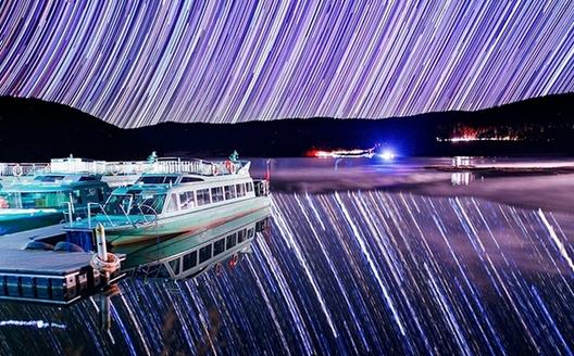 迪慶的唯美星空照