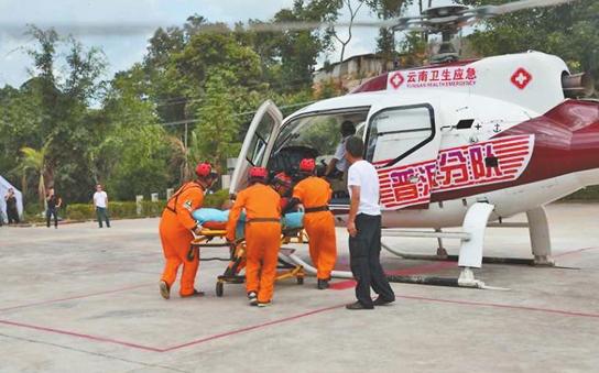 云南省卫生应急演练在普洱举行