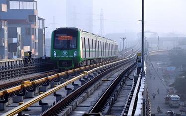 中企承建越南首條城市輕軌開始試運行