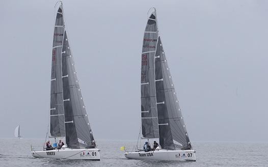 14國選手揚帆鬥技