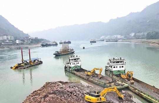 水富港擴能工程中嘴作業區將投入試運營