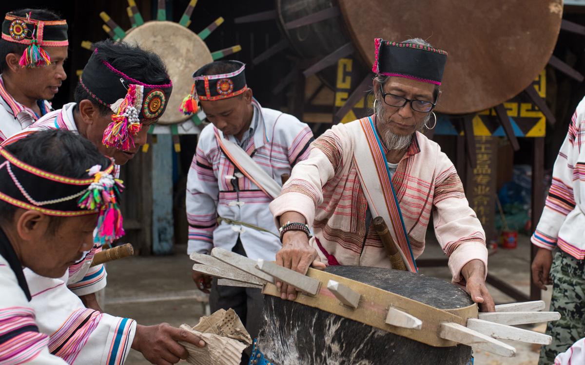 基諾族老人白臘先的制鼓技藝傳承夢