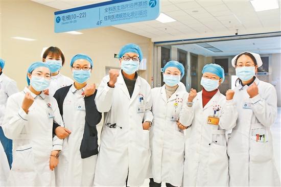 大理大學第一附屬醫院73名隊員整裝待發
